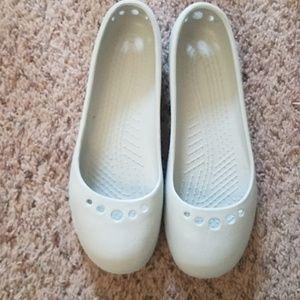 Crocs prima ballet flats
